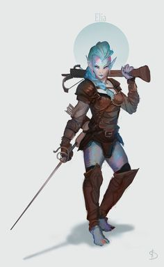 I recently started playing Pathfinder with some new friends!Its been really exciting coming up with our characters and the adventures so far. I was so excited I had to paint my character!&nbs...