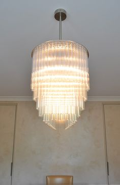 Linear Chandelier | Contemporary Lighting Project