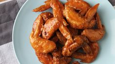 Fiery, tasty wings are best eaten with lots of rice or a cold drink on the side.