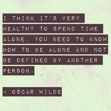 spend time alone #quote
