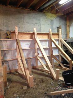 Apline Companies Excavating Bat Walls House Flooring Waterproofing