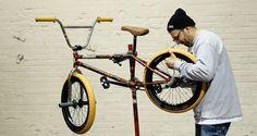 Montana Ricky Video Bike Check  Video: http://bmxunion.com/daily/montana-ricky-video-bike-check/  #BMX #bike #bicycle #bikecheck #style