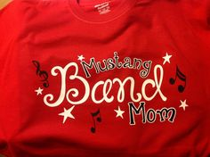 Hey, I found this really awesome Etsy listing at http://www.etsy.com/listing/161950220/band-mom-team-spirit-t-shirts-by-the