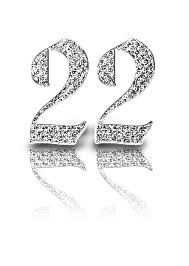 The number 22 my favorite :D Happy Birthday Love, 22nd Birthday, Birthday Gifts, 22 Tattoo, Feeling 22, Lucky Number, Letters And Numbers, To My Daughter, Logo Design