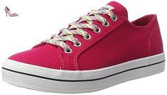 Tommy Hilfiger N1385ice 1d1, Sneakers Basses Femme, Rose (Virtual Pink 615), 42 EU - Chaussures tommy hilfiger (*Partner-Link)