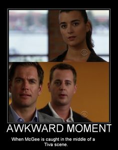 """NCIS Season 7 Episode 2 - """"Reunion"""" ~ Damn you McGee! Go get your Nutter Butter and give Tiva a fighting chance already! Ncis Abby, Ncis New, Ncis Jenny, Serie Ncis, Ncis Tv Series, Best Tv Shows, Favorite Tv Shows, Ncis Bishop, Ncis Gibbs Rules"""