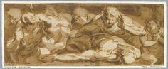 Frise avec des tritons et des néréides - CAMBIASO Luca