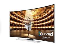 Samsung UN65HU9000 Curved 65Inch 4K Ultra HD 120Hz 3D Smart LED TV 2014 Model ** Details can be found by clicking on the image.