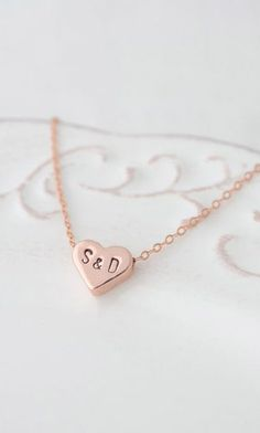 Personalized love necklace letter #kawaii #cute