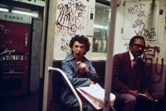 New York Subway, 1973. Man do I remember NOT riding the subway in the 70's.