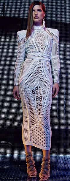Love this dress on my future wife anytime! Balmain did it.