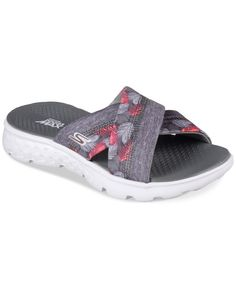 bbfc35881e8 Skechers Women s On The Go - Tropical Flip Flop Thong Sandals from Finish  Line Shoes Outlet