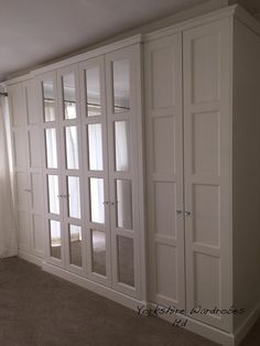 New Bedroom Wardrobe Doors Basements Ideas Wardrobe Doors, Bedroom Wardrobe, Built In Wardrobe, Closet Doors, Fitted Bedroom Furniture, Fitted Bedrooms, Balkon Design, Teen Room Decor, Living Room Grey