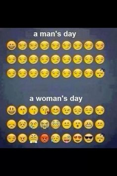 Funny pictures about A Man's Day Vs. A Woman's Day. Oh, and cool pics about A Man's Day Vs. A Woman's Day. Also, A Man's Day Vs. A Woman's Day photos. Mans Day, Funny Quotes, Funny Memes, Life Quotes, Laugh Quotes, Funny Humour, Random Quotes, Happy Quotes, Men Vs Women