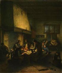 Tavern Scene - Adriaen van Ostade