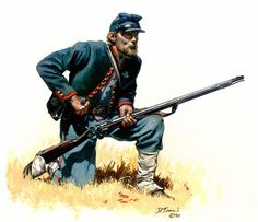 """Private, 72nd Pennsylvania Volunteer Infantry, 1863"", by Don Troiani. (www.dontroiani.com)"