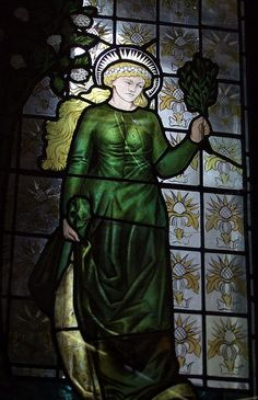 Stained glass - William Morris