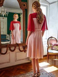 122 A-122015-B, burda style, Kleid, Nähen