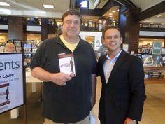 Ryan Lowe with John Goodman at book signing