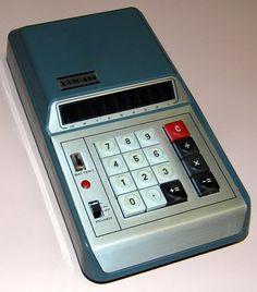 Vintage Korvettes XAM Model 888 Electronic Pocket Calculator, Made In Japan, Circa 1970s
