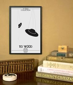 Ed Wood Inspired Awkward Comedy Movie Poster  11x17 by TheGeekerie, $18.00