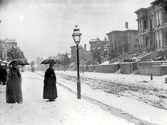 Winter - San Francisco (When it snowed in 1893!!)