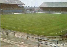 Boundary Park, Oldham Athletic in the 1980s.