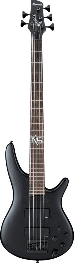 Ibanez K5: active pickups and the 3-band EQ.