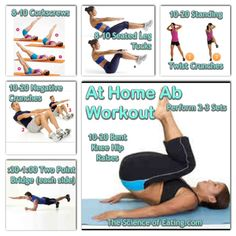 If you are looking for some super effective at home ab moves, try this workout to help get your core strong and toned.