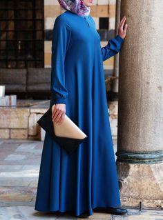 SHUKR USA | Easy Care Flared Abaya