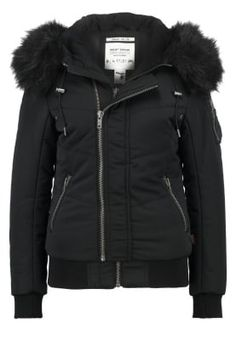 khujo BLANC - Winter jacket - black for £94.49 (08/10/16) with free delivery at Zalando