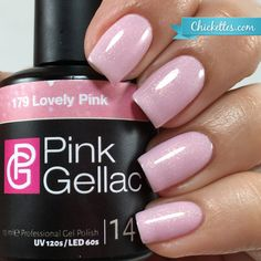 Pink Gellac #179 Lovely Pink at Chickettes.com