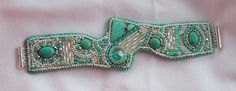 Bead Embroidery Bracelet Seed bead bracelet Tibetan by Vicus