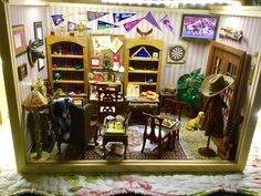 Witch Spell, Miniature Rooms, Doll Houses, Man Cave, Room Ideas, Miniatures, Dolls, Furniture, Home Decor