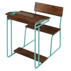 Modern Schoolhouse Desk (Aqua) | The Land of Nod