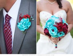 My wedding made it to Pinterest!! :) My bouquet was beautiful!