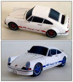 Paper Car Porsche 911 Carrera  pepakuracorner.blogspot.com