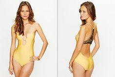 Honeymoon Swimsuit Inspiration - Empire Sequin One Piece from Free People
