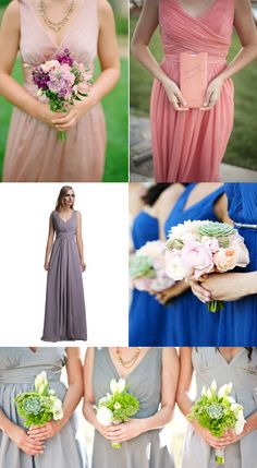 2014 Spring Bridesmaid Dress Colors and Trends