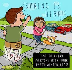 spring cartoon