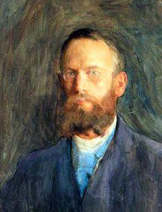 Erik Teodor Werenskiold, known Norwegian painting and drawing.