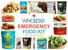 Whole30 Emergency Food Kit
