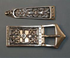 Viking Buckle Set Gotland 1, Bronze