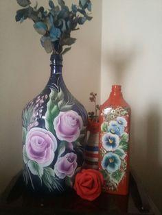 Minhas artes em garrafas!