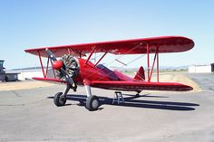 1942 Boeing Stearman PT-17.  My dad owned one of these when I was a boy.