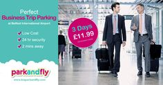 Our Park and Fly car park is perfect for business trip parking at just £11.99 for 3 days www.biaparkandfly.com