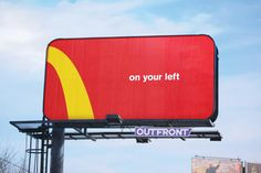 McDonald's New Ad Turns Their Famous Golden Letters Into Navigation Signs