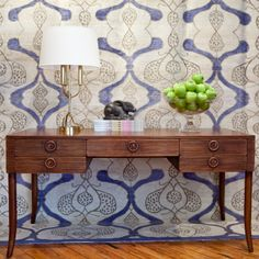 Bunny Williams Home Tambour Desk. Found at Layla Grayce  #laylagrayce #bunnywilliamshome