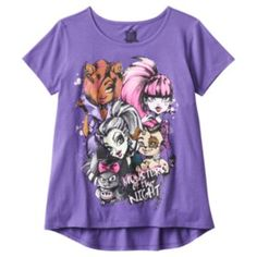Hybrid Monster High High-Low Tee - Girls 7-16