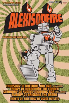 Alexisonfire, my favourite band and forever will be! This poster is incredible!